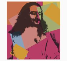 Pop Art Meher Baba Kids Tee