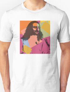 Pop Art Meher Baba Unisex T-Shirt