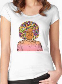 Guru Sathya Sai Baba Women's Fitted Scoop T-Shirt