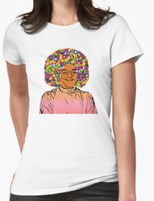 Guru Sathya Sai Baba Womens Fitted T-Shirt
