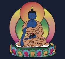 Buddhist Blue Buddha Kids Clothes