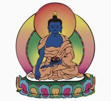 Buddhist Blue Buddha Kids Tee