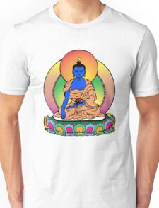 Buddhist Blue Buddha Unisex T-Shirt