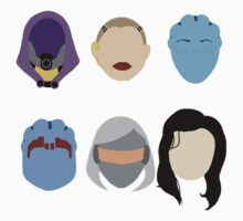 Mass Effect Minimalism Ladies by Kmoonleaf
