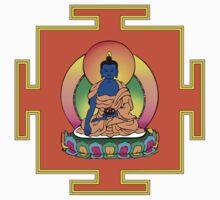 Yantra Blue Buddha by mindofpeace