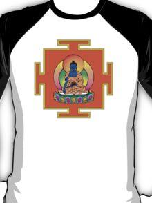Yantra Blue Buddha T-Shirt