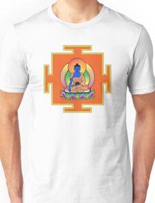 Yantra Blue Buddha Unisex T-Shirt