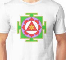 Yantra Lotus Ganesha Symbol Unisex T-Shirt