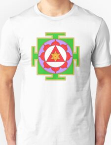 Yantra Lotus Ganesha Symbol T-Shirt