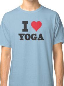 I Love Yoga Classic T-Shirt