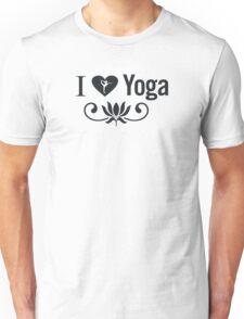 I Love Yoga V2 Unisex T-Shirt