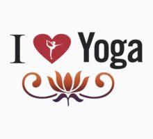 I Love Yoga V3 Kids Clothes
