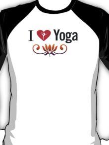I Love Yoga V3 T-Shirt