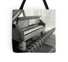 Piano and quill Tote Bag