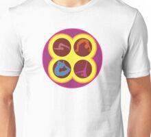 Pop Art Yoga Poses Unisex T-Shirt