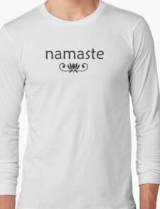 Namaste Long Sleeve T-Shirt
