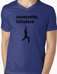 Namaste Bitches Mens V-Neck T-Shirt