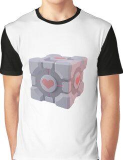 Portal Companion Cube Graphic T-Shirt