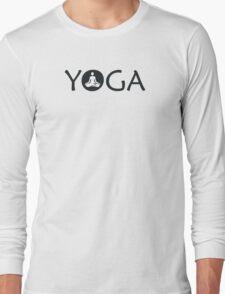 Yoga Meditate Long Sleeve T-Shirt