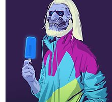 White Walker Ice Lolly by Curruptcheese