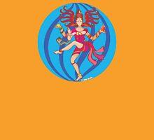 Shiva Shakti Dancer Womens Fitted T-Shirt