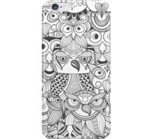 Cute Retro Owl Cartoon iPhone Case/Skin