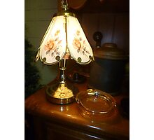 Lamp At The Sale Photographic Print