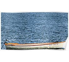 Crab Catchers Boat Poster