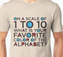 Scale of 1 to 10 Unisex T-Shirt