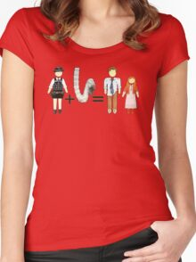 Who Math #4 Women's Fitted Scoop T-Shirt