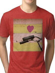 love bicycle Tri-blend T-Shirt