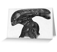 xenomorph-biro Greeting Card