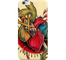Snake and Dagger  iPhone Case/Skin