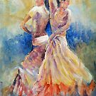 Double Flamenco - Dance Art Gallery by Ballet Dance-Artist