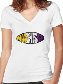 Madchester Women's Fitted V-Neck T-Shirt