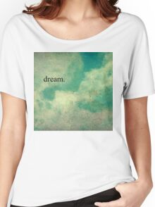 Dream Vintage Sky Pattern Women's Relaxed Fit T-Shirt