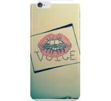 Voice iPhone Case/Skin