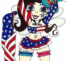 Fourth of July Nymph by GBabby