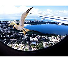 Soaring about the clouds Photographic Print