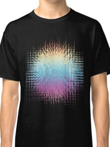 Psychedelic Glitch  Classic T-Shirt