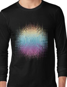 Psychedelic Glitch  Long Sleeve T-Shirt