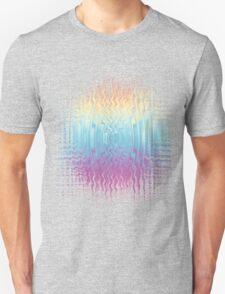 Psychedelic Glitch  Unisex T-Shirt