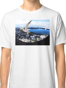 Soaring about the clouds Classic T-Shirt