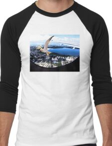 Soaring about the clouds Men's Baseball ¾ T-Shirt