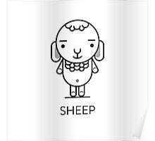 #30 Sheep Poster