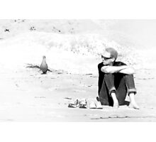 Waiting, but not Alone Photographic Print