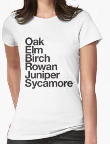 Helvetica x PKMN Profs - BW Womens Fitted T-Shirt