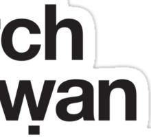 Helvetica x PKMN Profs - BW Sticker