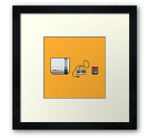 #38 Nintendo Entertainment System Framed Print