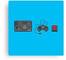 #39 Sega Megadrive Canvas Print